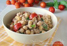 Salad of chickpeas and tuna