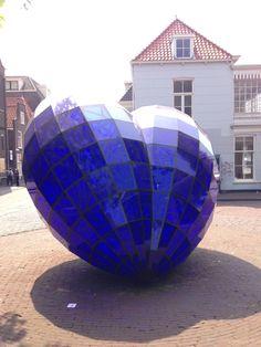 Delfts Blauw hart, Delft