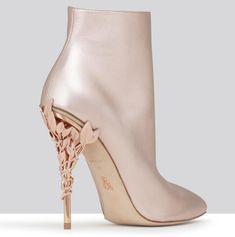Ralph and Russo Eden Heel Ankle Boot Bridal Shoes, Wedding Shoes, Wedding Dresses, Ralph And Russo Shoes, Stiletto Heels, High Heels, Shoe Boots, Shoes Heels, Prom Heels