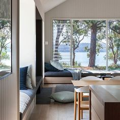 First look at our Metung House 2. Completed 2016.  Photographed: Hilary Bradford Built: Jon Carter Constructions  #newneil #neilarchitecture #architecture #contemporaryarchitecture #melbournearchitecture #melbournearchitects #australianarchitecture #australianarchitects #metung #metunghouses #beachhouse #australianbeachhouse #interiors #interiorarchitecture #hilarybradfordphotography