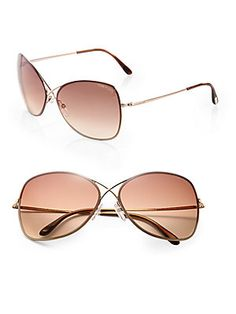 Tom Ford Eyewear - Colette Crossover Round Sunglasses. Óculos FordÓculos De  Sol ... 342a5f1e0d