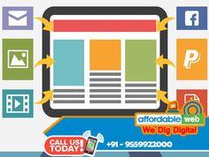 #Website #designing in #Kasganj Call Us 9559922000 Affordable Web #Website Designing and #Development in #Kasganj Domain and Hosting Package in #Kasganj
