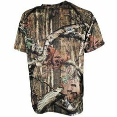 Available @ The Mossy Oak store in Foley,Al This performance tee offers ultimate comfort and moisture management in warm conditions, but also doubles as a great layering garment.