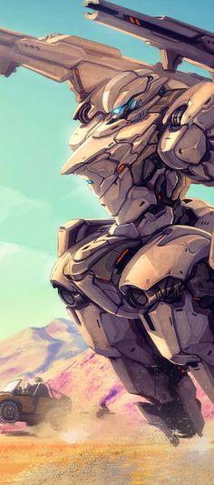 SciFi Robot Wallpapers   Backgrounds, Desktop Images, Photos, HD   http://www.fabuloussavers.com/scifi_robot-wallpapers.shtml