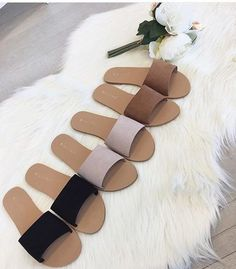 Check opposite sex event footwear, clean water flip flops, & more constructed for comfort & durability. Bling Sandals, Shoes Flats Sandals, Cute Sandals, Shoe Boots, Pretty Shoes, Cute Shoes, Me Too Shoes, Cute Slippers, Dream Shoes