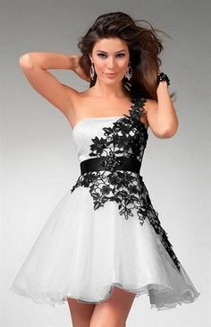 Black and white short dresses Review