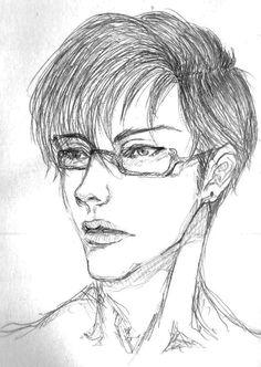Looks like my sketchbook lacks of male human being. So here, his name is Jupiter.