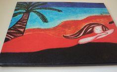 "Sweet Dreams Print on Canvas 16x20 $50.00 USD Art print of my ""Sweet Dreams"" art piece on canvas. Size 16x20."