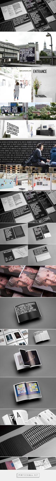 P/ART producers artfair - corporate design on Behance - created via https://pinthemall.net