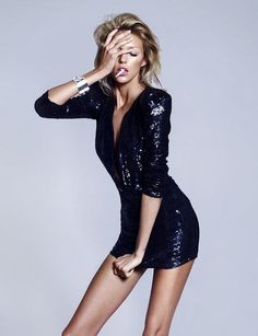 World of Sequins Black Dress #blackdress #LBD #black