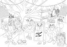 Peppa Pig, Diagram, Art, Art Background, Kunst, Performing Arts, Art Education Resources, Artworks