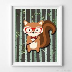 Woodland Squirrel Brown Background posters by Inkist Prints! This unique nursery decor print will make a great addition to any nursery and kids room. It would also be a great gift for baby shower and birthday. Nursery Artwork, Kids Room Wall Art, Nursery Prints, Nursery Decor, Nursery Room, Room Decor, Baby Room, Nursery Ideas, Artwork Prints