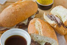 Sandwich Recipe: French Dip Au Jus Recipes from The Kitchn   The Kitchn