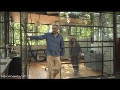 """Owner-built Atlanta glass """"treehouse"""" floats among hardwoods"""