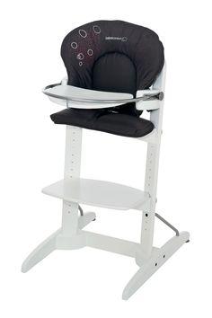 Bebe Confort Chaise haute Woodline Poetic Black