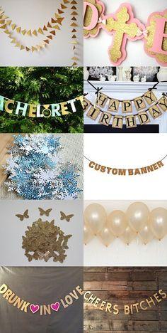 #Party decoration wir sind immer auf der Suche nach den neuesten Dekotrends! #party #partydecoration #celebrate #etsyshop #etsy #etsyseller #decorationideas #impressions