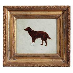 Dog On Tile #art #dogs #portrait (via @1stdibs)