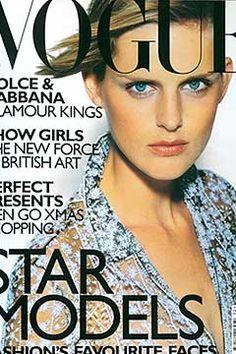 Fashion Magazine Covers - Online Archive for Women (Vogue.com UK) DECEMBER 1997