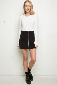 Brandy ♥ Melville | Clarity Skirt - Bottoms - Clothing