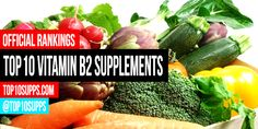 We've ranked the best riboflavin supplements you can buy right now. These top 10 vitamin b2 products are the highest rated and best reviewed online.