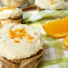 Coconut Chia Muffin with Baobab Icing
