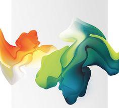 I Speak Fluid Colors by Maria Grønlund