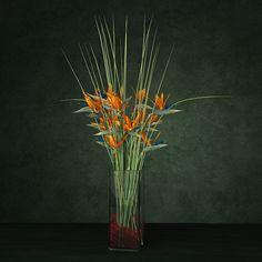 3D Exotic Bouquet Enterance Model - 3D Model