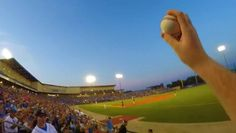 GoPro Captures Fan's Barehanded Catch