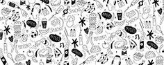 pau morgan Food Patterns, Pretty Patterns, Pattern Illustration, Photo Wall, Frame, Artist, Illustrations, Picture Frame, Photograph