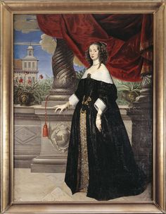 Anna Margareta Wrangel, målad av Anselm van Hulle vintern 1649–50