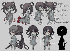 Witch House, Indie Games, Creepy, Horror, Fan Art, Japanese, Drawings, Illustration, Character