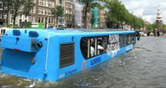 The most splashing way to discover Amsterdam