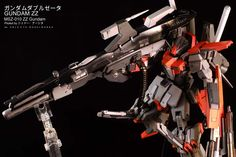 ZZ Gundam Extra Fit (Resin Conv.) + Mega Launcher: Work by Objects Modelworks. Full Photoreview Hi Res Images http://www.gunjap.net/site/?p=216278