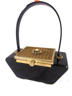 1950s Lucite Handbag
