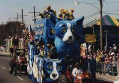 Blue Dog and Mardis Gras