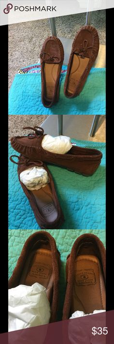 Lucky Brand Mocs Great Condition Lucky Brand Moccasins Lucky Brand Shoes Moccasins