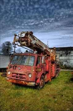 Old Fire Truck HDR by bcbusinesshub, via Flickr