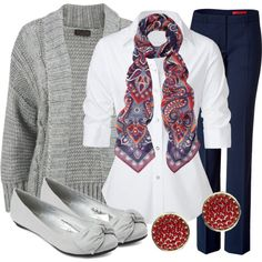 """""""Teacher, Teacher 44"""" by qtpiekelso on Polyvore - Love it, but this teacher can't afford $160 for a shirt! I could put the look together for less!"""