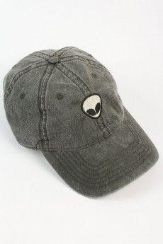 Alien Patch Baseball Cap