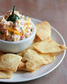 Jalopeno pimento cheese is the perfect dip for a casual celebration
