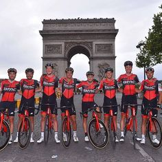 source instagram bmcproteam @letourdefrance squad goals! Congratulations guys! #Ride_BMC  @tdwsport bmcproteam 2017/07/24 03:40:37