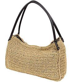 Sun N Sand Sand Stone Straw Hobo Bag