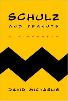 book cover design - Schulz and Peanuts by David Michaelis, designer Chip Kidd