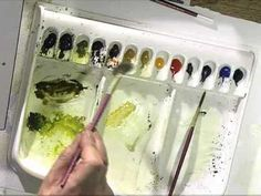 Improve Your Trees in Watercolor with Terry Harrison
