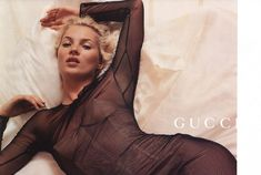 Kate Moss for GUCCI S/S 2001, Photographer: Inez Van Lamsweerde & Vinoodh Matadin (Image via Style Registry)