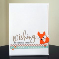 Such a Cute card by Jingle for the Simon Says Stamp Wednesday challenge (No Designer Paper)