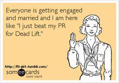 I'm just over here, I beat my deadlift PR. #crossfit