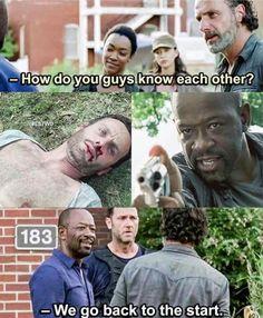 Rick and Morgan - TWD