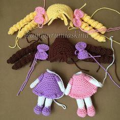 46 Likes, 7 Comments - Nihal A Pin by Amifriends on crochet dolls_ amigurumis Sweet little crochet doll base This Pin was discovered by Atö Amigurumi At Yapılışı Crochet Motifs, Crochet Doll Pattern, Crochet Patterns Amigurumi, Crochet Stitches, Cute Crochet, Crochet Baby, Knit Crochet, Crochet Things, Crochet Amigurumi