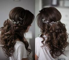 Are you looking for pictures for hair color? Browse around this website for perfect hairstyle ideas.This kind of hairstyles looks totally terrific. Quince Hairstyles, Best Wedding Hairstyles, Messy Hairstyles, Hairstyle Wedding, Hairstyle Ideas, Graduation Hairstyles, Quinceanera Hairstyles, Wedding Hair Inspiration, Wedding Beauty